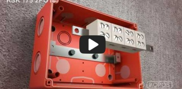 Embedded thumbnail for Installations instruktionsboks med vedligeholdt funktionalitet i brand KSK 175 PO