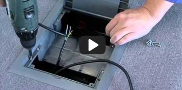 Embedded thumbnail for Monteringsvejledning ledningsboks i beton og dobbelte gulve KOPOBOX