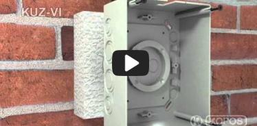 Embedded thumbnail for Monteringsvejledning universalboks KUZ-VI i termisk isolering med låg