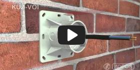 Embedded thumbnail for Monteringsvejledning universalboks KUZ-VOI i termisk isolering med åbningslåg