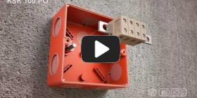 Embedded thumbnail for Installations instruktionsboks med vedligeholdt funktionalitetsboks KSK 100 PO