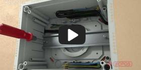 Embedded thumbnail for Monteringsvejledning universalboks KUZ-VO med åbningslåg
