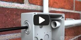 Embedded thumbnail for Installationsvejledning ledningsboks KSK IP 66 beskyttelse
